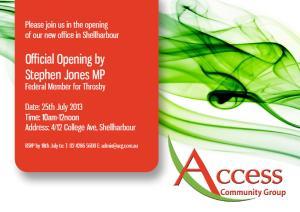 Access Invite