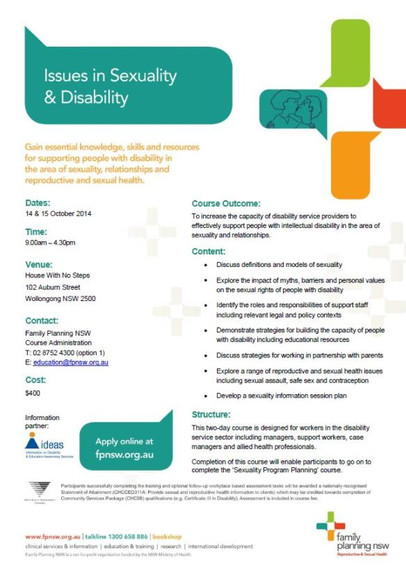 2014-09-18 09_21_16-Issues in Sexuality  Disability Flyer WOLLONGONG Oct 2014.pdf - Adobe Reader