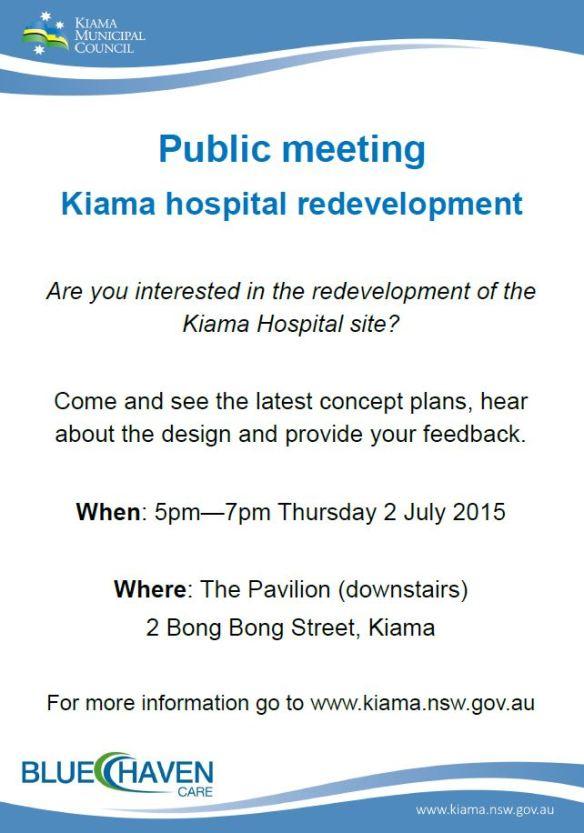2015-06-26 08_45_13-Public Meeting Kiama Hospital 2 July 2015.pdf - Adobe Reader