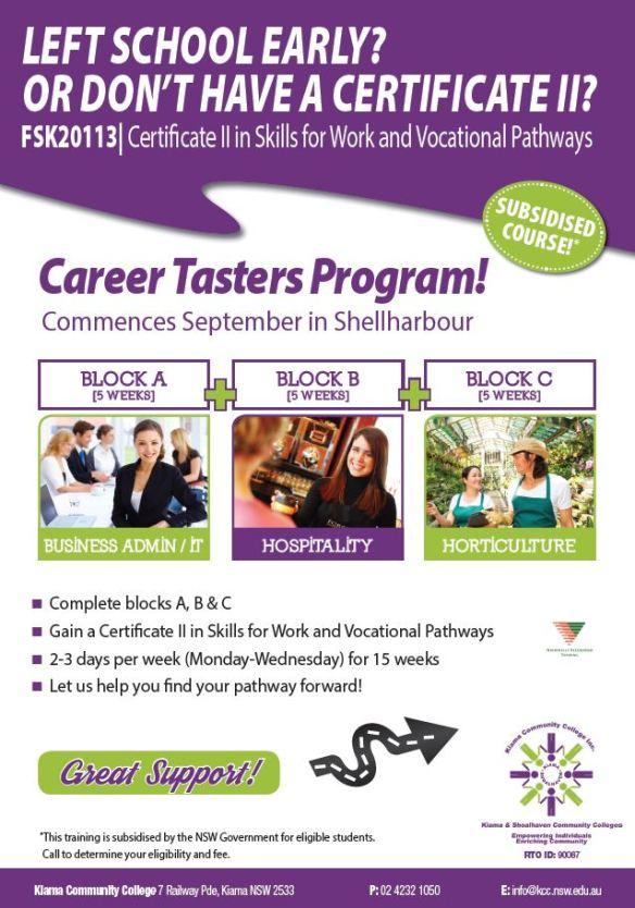 2015-08-21 12_12_52-Cert II Skills for Work-Vocational Pathways September Taster_PRINT.pdf - Adobe A
