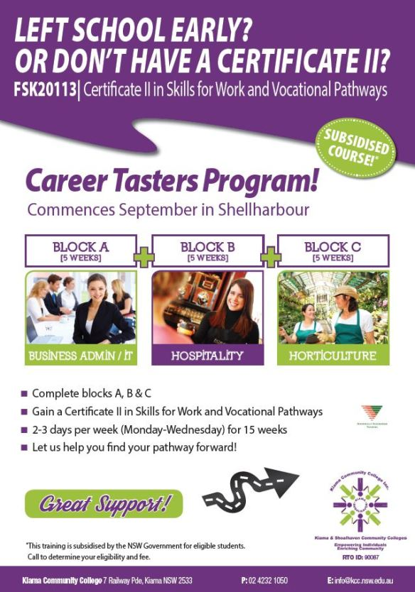 2015-08-21 12_12_52-Cert II Skills for Work-Vocational Pathways September Taster_PRINT.pdf - Adobe A