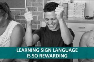 Sign Language classes Term 4 - Message (HTML)