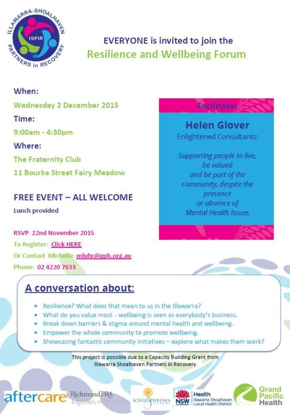 INVITE Illawarra Wellbeing Forum.pdf - Adobe Acrobat Reader DC