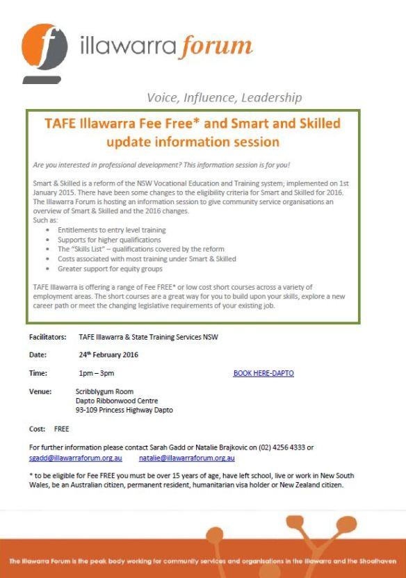 TAFE  SS INFO Wollongong 24-02-16.pdf - Adobe Acrobat Reader DC
