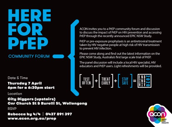 Wollongong-PrEP-Forum