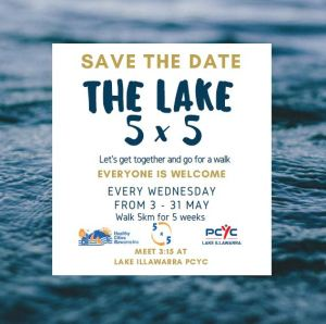 Lake 5x5 - Save the Date