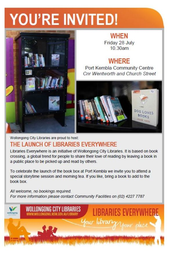 Launch Of Libraries Everywhere Invitation