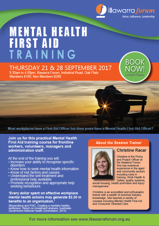 Mental Health First Aid Illawarra Interagency