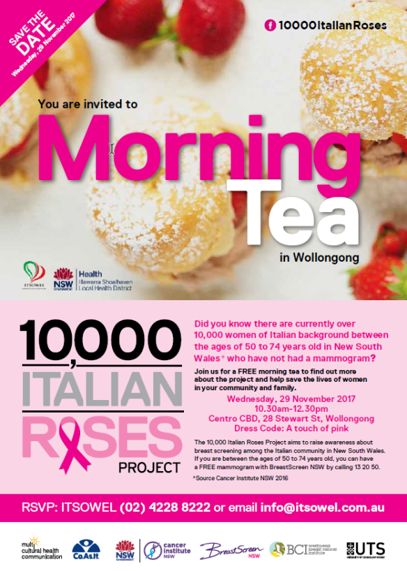 10000 Italian Roses Poster Wollongong Morning Tea Event.pdf - Adobe Acroba