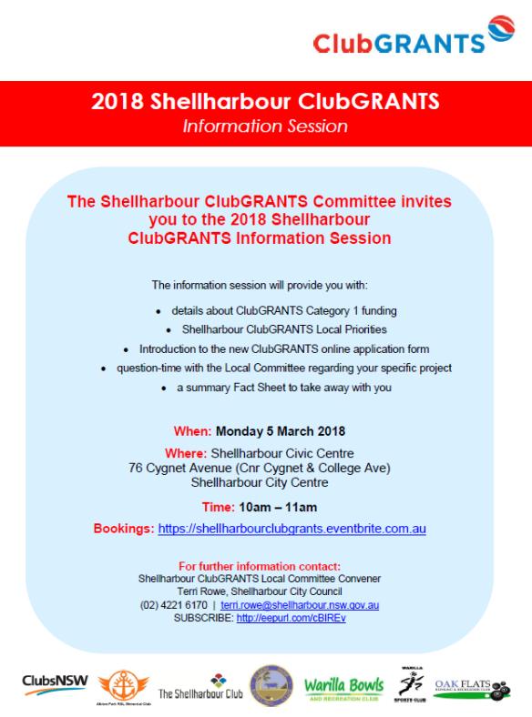 Shellharbour ClubGRANTS 2018_Information Session.pdf - Adobe Acrobat Reader DC