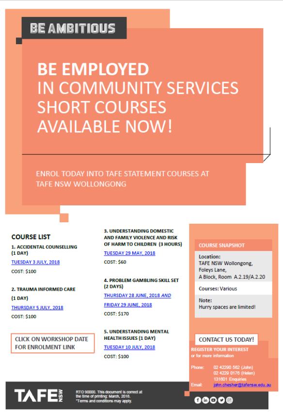 Community Services Short Courses.pdf - Adobe Acrobat Reader DC