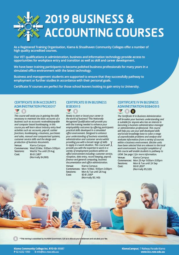 Smart and Skilled Accredited Training | Illawarra Interagency
